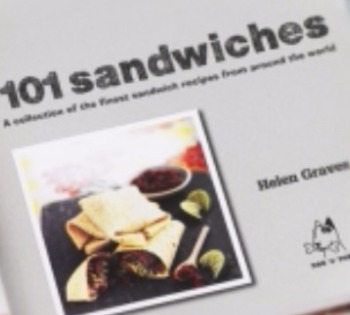 New book featuring photography by Stephen 101 sandwiches