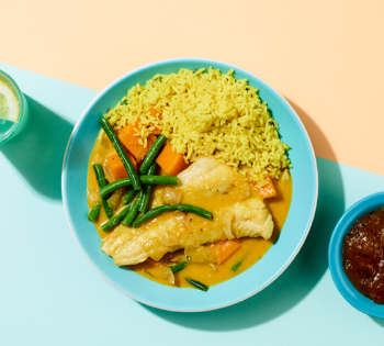 New Work : My Everday food delivery curry