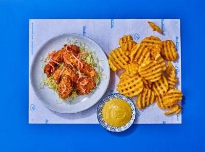 Stacksando fried chicken Stephen Conroy  photographer