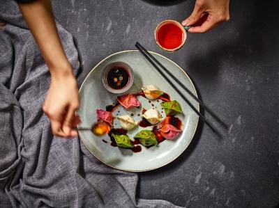 bao buns and dumplings Stephen Conroy photography