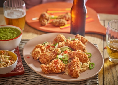 hot wings chicken Stephen Conroy photographer