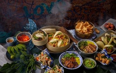Taiwanese street food menu Stephen Conroy photography