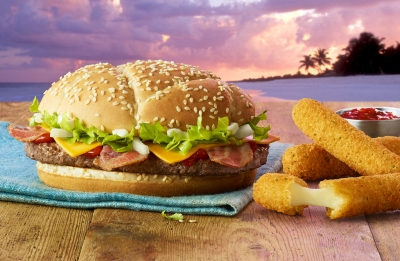 McDonalds GTA Great Tastes Of America Burger photography