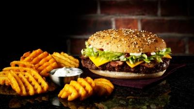 McDonalds GTA Great Tastes Of America Burger photographer