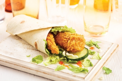 McDonalds Wrap photography by Stephen Conroy