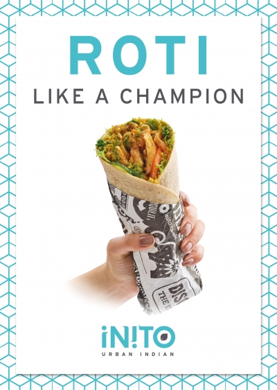 indian roti wrap food photography by Stephen Conroy