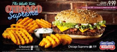 McDonalds GTA Great Tastes Of America Chicago Stephen Conroy Burger photography