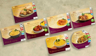 Asda Indian Packaging range Stephen Conroy food photography