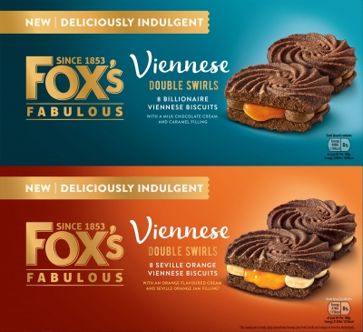 Foxes Viennese Double Biscuit sandwich food photography by Stephen Conroy