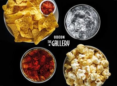 Odeon Cimema popcorn nachos photography Stephen Conroy