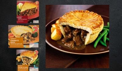 Sainsbury Pie Packaging Stephen Conroy food photography