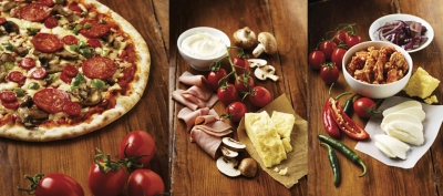 Tesco Pizza Stephen Conroy packaging photography