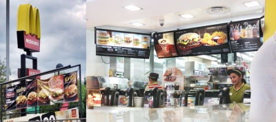Stephen Conroy McDonalds Point of sale food menu photography