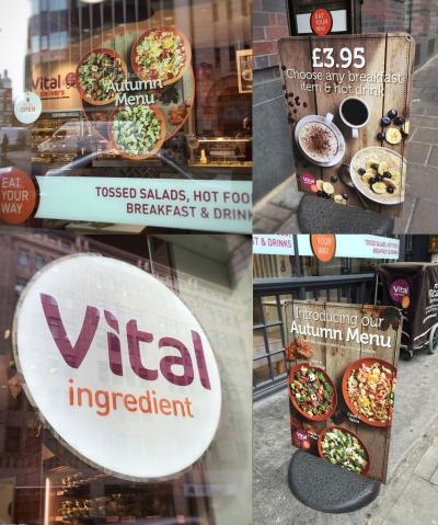 Stephen Conroy Vital Ingredient Point of sale food menu photographer