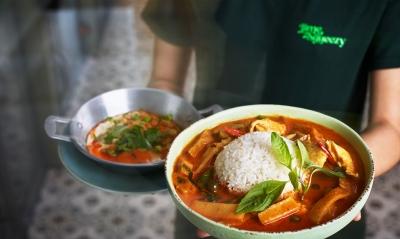 Stephen Conroy Thai menu photography