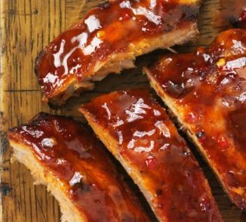 Every food photographer's basics ribs
