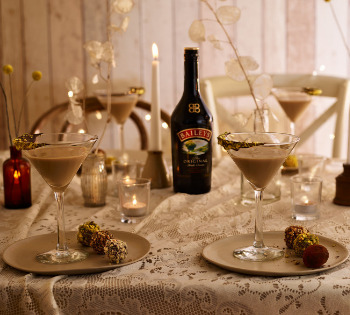 Diageo Wedding Cocktail campaign Baileys