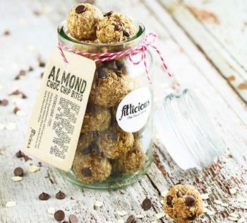 Health food blog granola bites