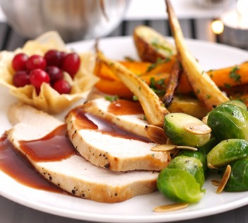 Professional tips for your Christmas food photography roast turkey