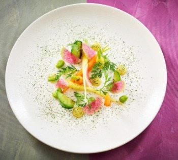 What can you expect the first time you hire a food photographer salad